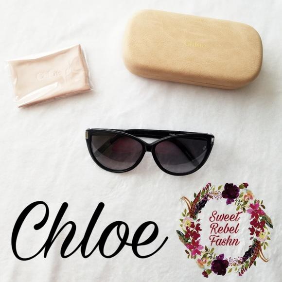 3ee6f0d20235 NWOT Chloe Cat Eye Sunglasses
